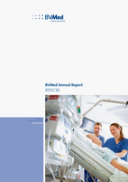 Cover BVMed Annual Report 2015/16