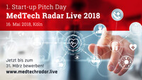 Gemeinsamer Start-up Pitch Day von BVMed, Earlybird, BARMER, High-Tech Gründerfonds und Medtech Zwo