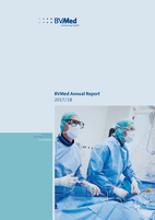 Cover BVMed Annual Report 2017/18