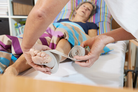 Homecare-Therapien: Wundversorgung